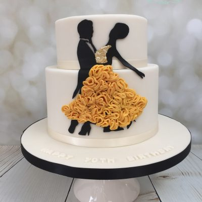 Cake for a dancer