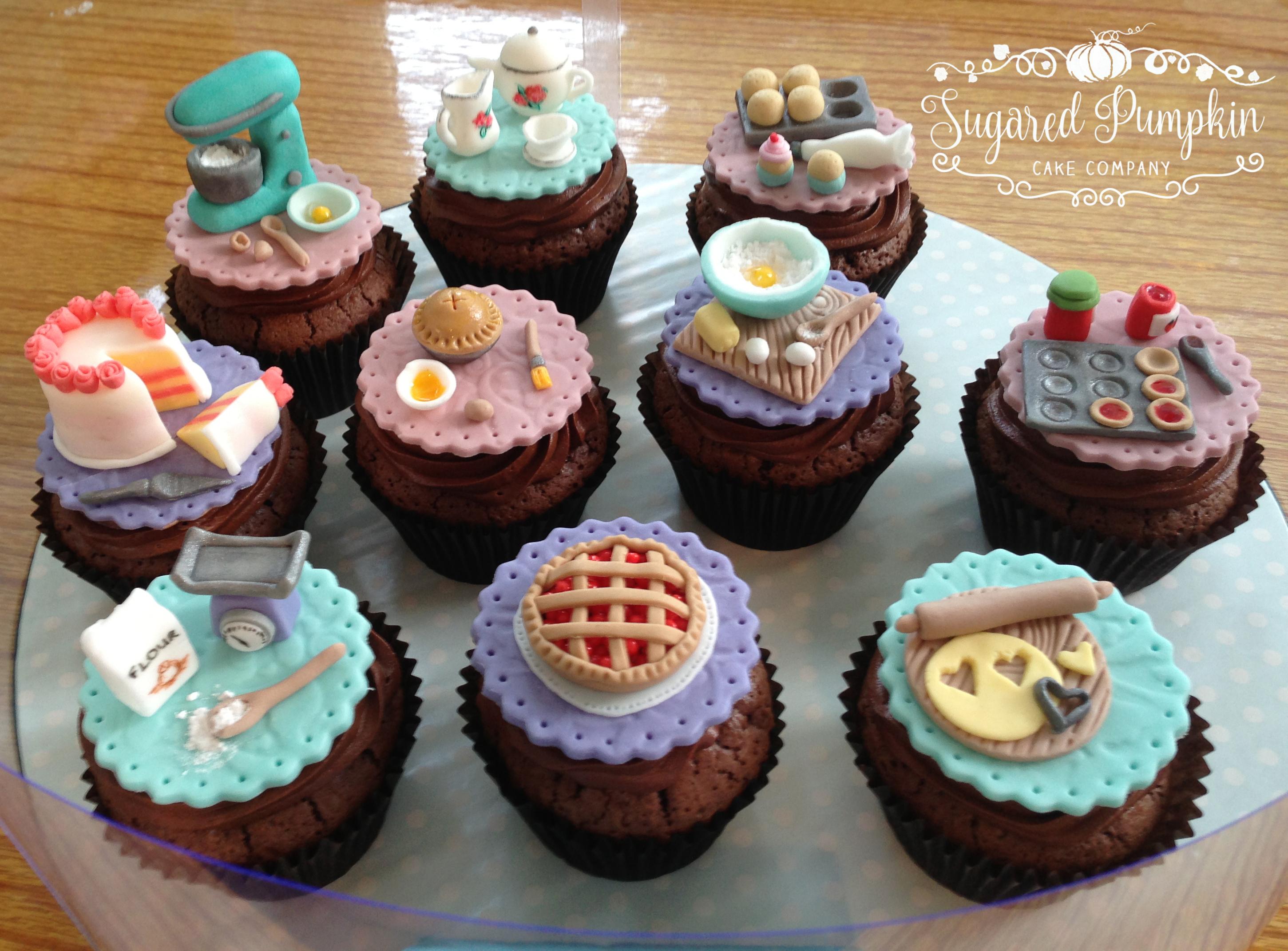 Cupcakes Sugared Pumpkin