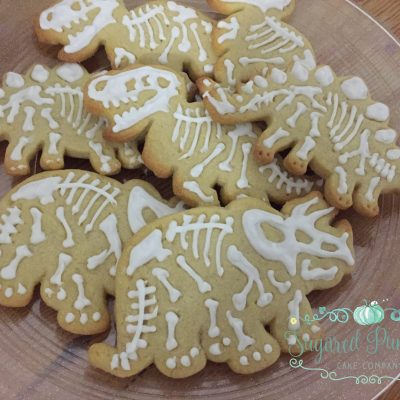 Dinosaur biscuits